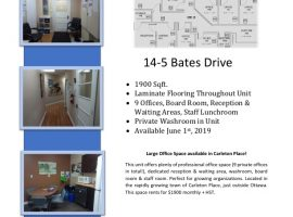 Large Office Space - Available Immediately