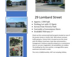 Commercial Space with Plenty of Parking in Smiths Falls
